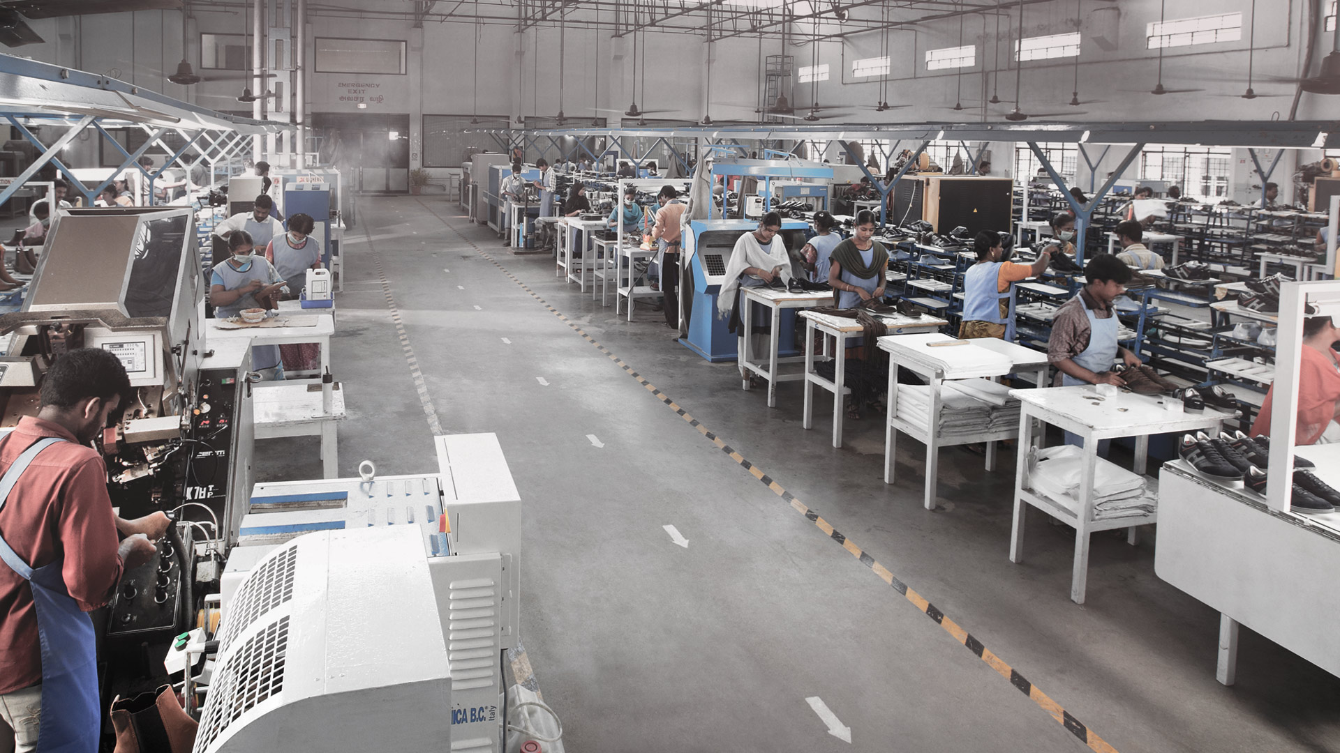 fashion shoes for men and women are produced and exported from our full-shoe division