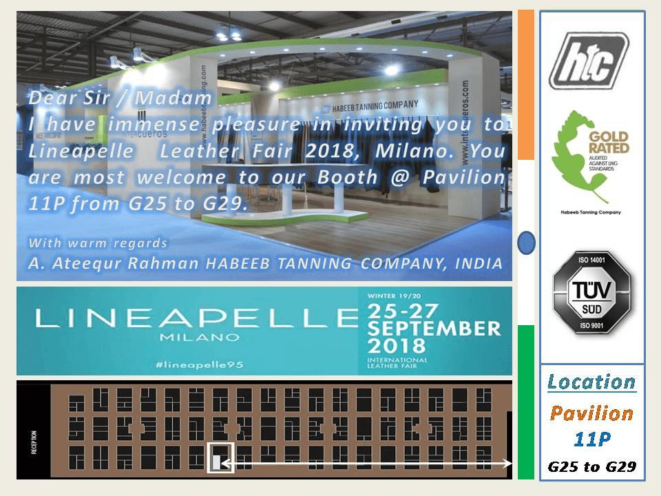 lineapelle leather fair 2018